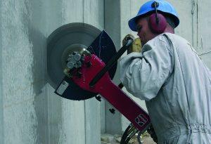 Главные характеристики алмазной резки бетона